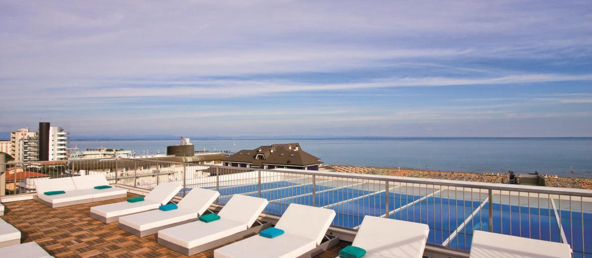 Sole e relax con vista sulla spiaggia di Lignano